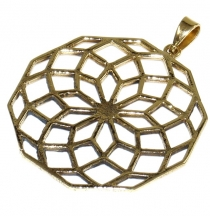 Indisches `Flower of life` Amulett, Talisman Medaillon - Model 4