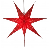 Foldable Advent Starlight Paper Star, Christmas Star Delfi