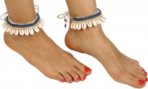 anklets, foot ornaments, goat ornaments, barefoot ornaments, neck..