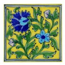 Indian ceramic tile - Design 1