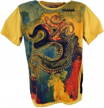 Mirror T-Shirt - OM / gelb