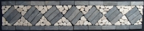 Mosaic tiles border - Design 2