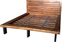 Solid wood double bed 180 cm - Model 5
