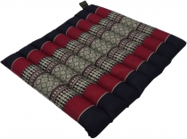 Thai chair cushion, floor cushion, seat pad made of Kapok, 35*40 ..
