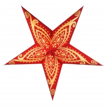 Foldable Advent Starlight Paper Star, Christmas Star Apollo