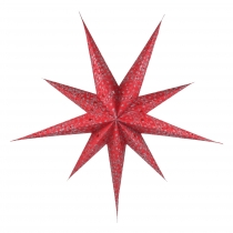 Foldable Advent Starlight Paper Star, Christmas Star Fiore