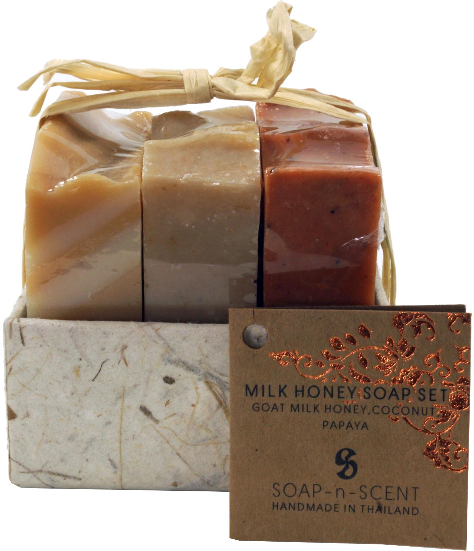 soap set, gift set   Milk Honey   20 x scented soap 20 g, Fair ...